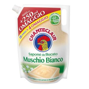 Chanteclair Muschio Bianco for Hand and Machine Wash Refill