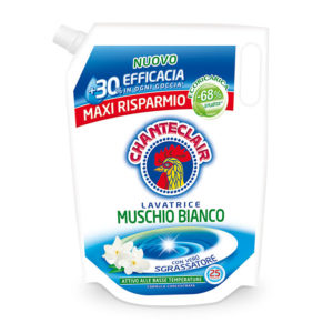 Chanteclair Muschio Bianco for Washing Machine Refill
